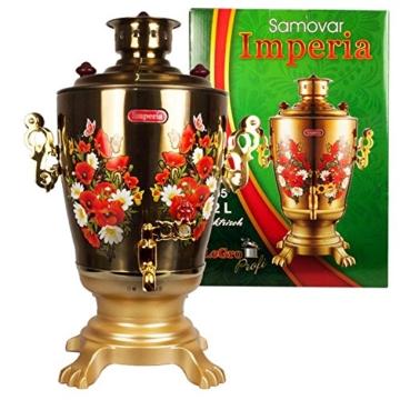 Elektrischer Samowar Imperia Gold -