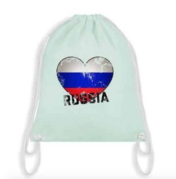 Turnbeutel Rusia hell türkis