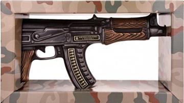 Zlatogor Kalashnikov AK 47 Wodka mit Geschenkverpackung (1 x 0.5 l) -